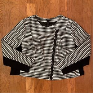 NWT Lane Bryant Houndstooth Jacket